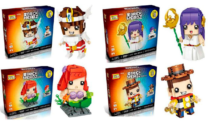 Lego de tu personaje favorito desde 300 piezas ¡Elije el que quieras!