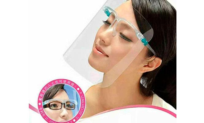 Protectores facial tipo lentes4 o 8 o 12 ¡Incluye delivery!