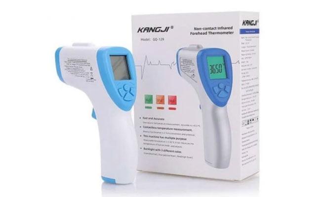 Termometro infrarrojo digital Kangji ¡Incluye delivery en 24 a 48hrs!