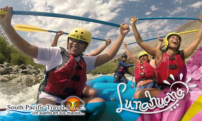 Cerro Azul - Lunahuana – Catapalla con deportes de aventura desayuno y mas