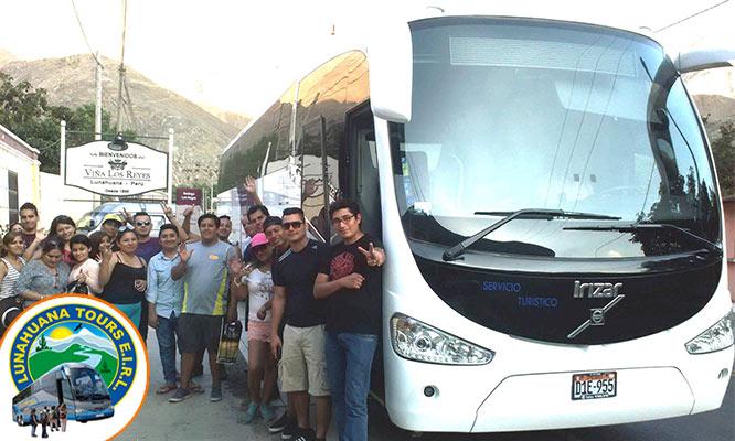 Full Day VIP Lunahuana Cerro Azul Ruta del vino / piscos Catapalla y mas