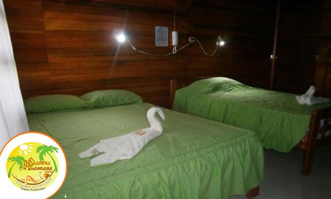Tarapoto Alojamiento para 4 personas desayunos en Madera Labrada Lodge