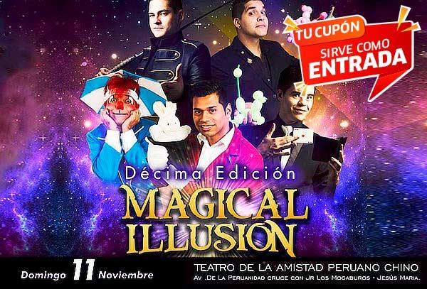 Entrada al Show de Magia MAGICAL ILLUSION
