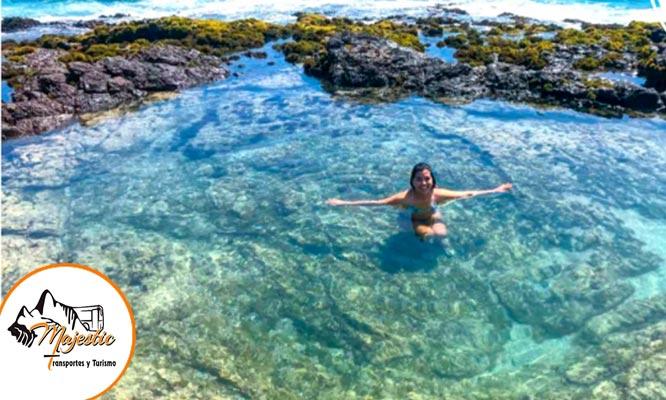 Full Day Tuquillo - Pocitas y Barranca con kayak snorkel y mucho mas