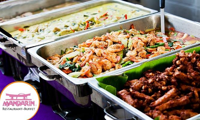 Restaurant Buffet Internacional Mandarin lunes a domingo