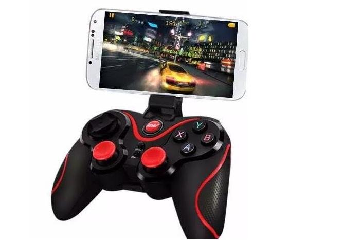 Mando de juegos inalambrico Bluetooth para celulares