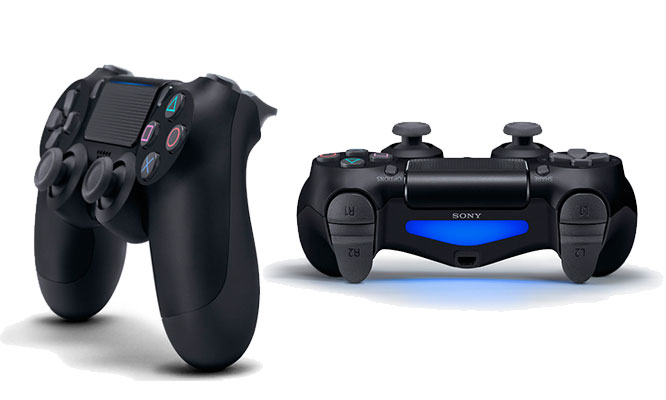 Mando control dualshock 4 Ps4 Negro Pro Slim Doble Led delivery