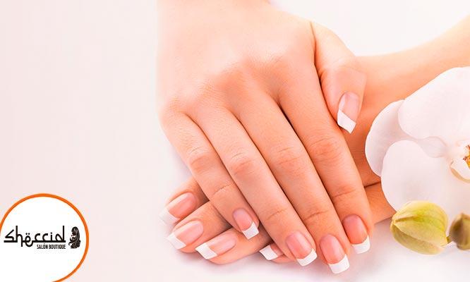 Manicure hidratacion con francesa o full color