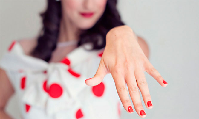Cepillado o planchado manicure express