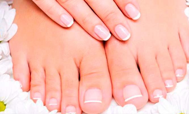 Manicure y pedicure exfoliacion de pies