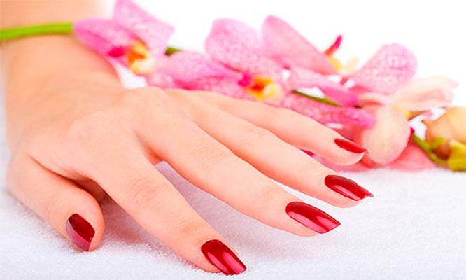 Manicure con esmalte en gel 1 art en 1 uña
