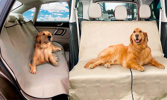 Cobertor de auto para mascotas
