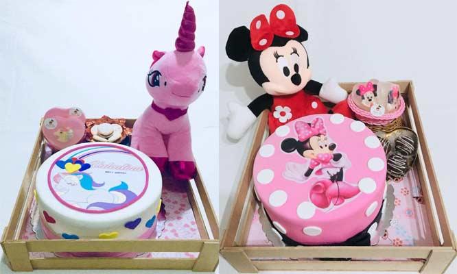 Pack Cumpleañero torta tematica jabones de baño artesanales y mas