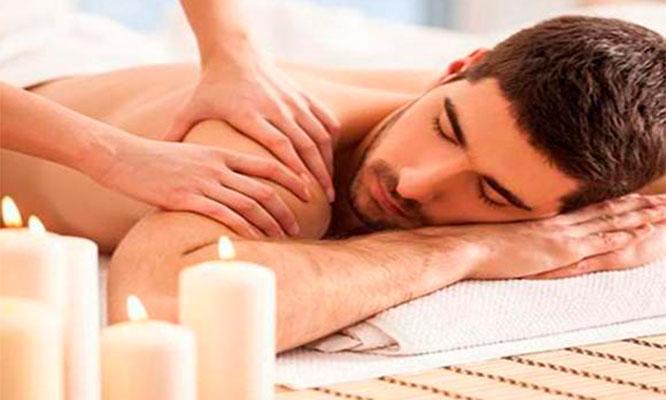 Masaje relajante o descontracturante en todo el cuerpo reflexologia Migrañas