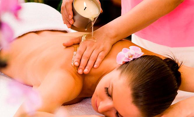 Sesion de masajes relajantes y antiestres
