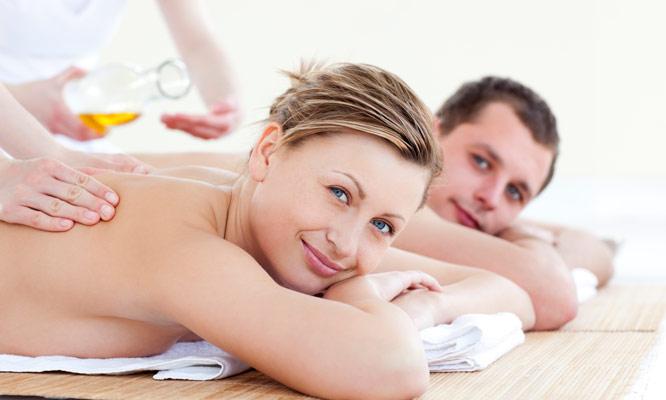 Sesion de masajes en cuerpo completo piedras calientes reflexologia