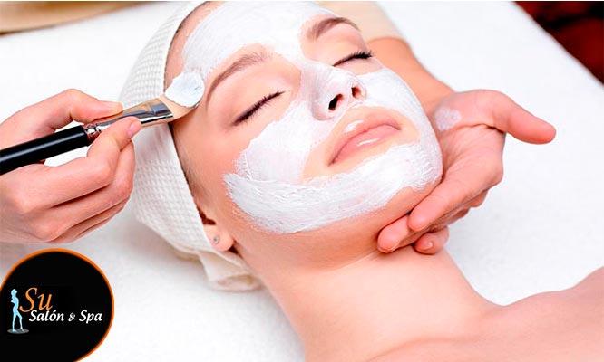 Peeling ultrasonico limpieza facial con exfoliador mascarilla y mas