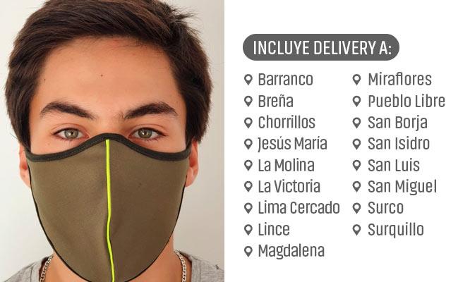 10 o 20 Mascarillas Suplex (Poliester) segun elijas ¡Incluye Delivery!