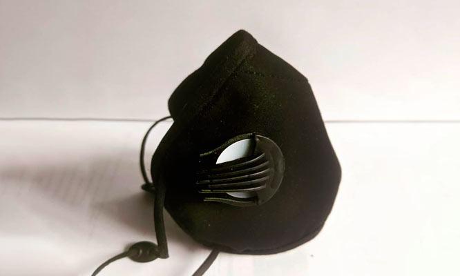 Mascarilla deportiva modelo One de cobre No requiere cambio de filtro