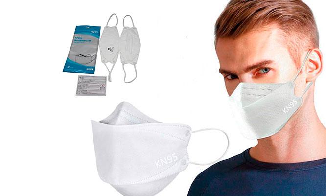 Mascarillas Air KF94 -3D filtra el 95% con 5 capas de proteccion con tecnologia 3D
