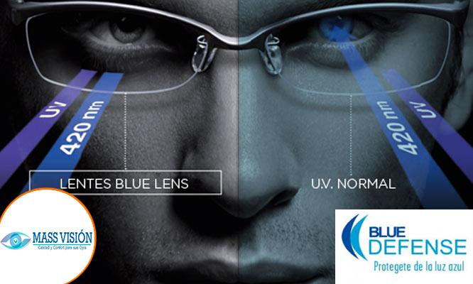 Lentes con resinas Blue Defense montura importada a escoger examenes visuales y mas