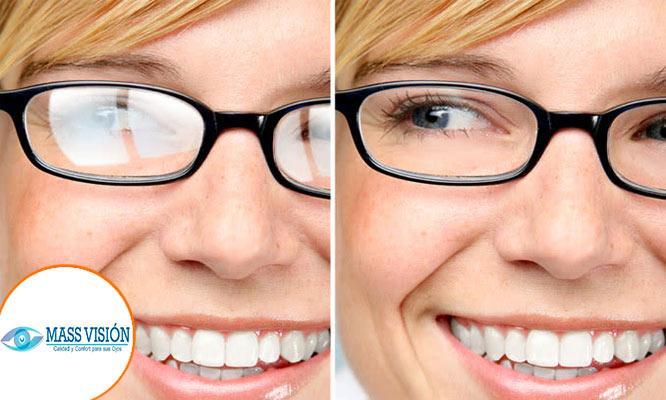 Lentes con resinas Antireflex montura importada a escoger examenes visuales y mas