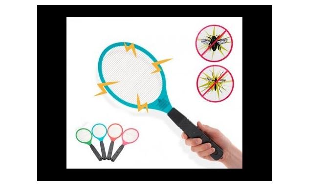 Raqueta electrica atrapa insectos de Itelsistem ¡Olvidate del insecticida!