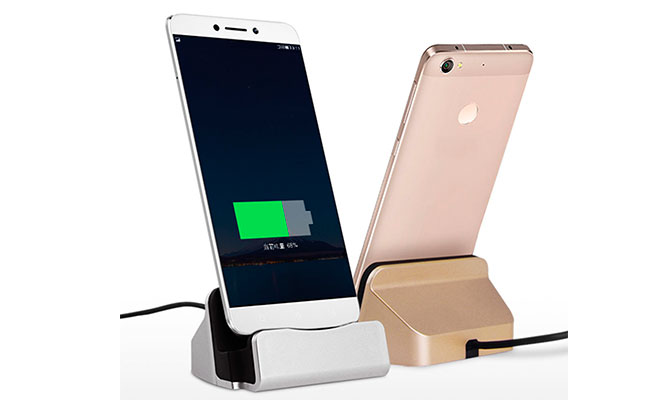 Cargador Base Dock 3 modelos Android Iphone y mas con Mdm Logistics