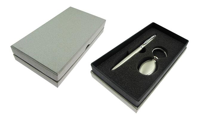 Set de lapicero de metal de tinta liquida - Incluye grabacion personalizada