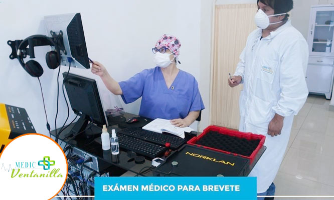 Examen Medico para Brevete VENTANILLA nuevo revalidacion y recategorizacion y mas