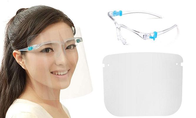 Pack de 2 46 u 8 visores faciales protector con Medpharma ¡Incluye delivery!