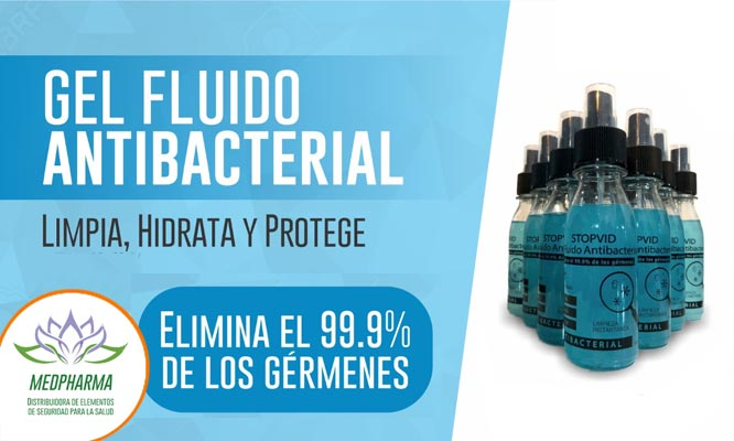 Gel fluido de alcohol de litro 1 2 o 3 sprays de 120ml delivery