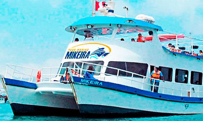Tour Marino Bahia del Callao en Catamaràn Mikeira