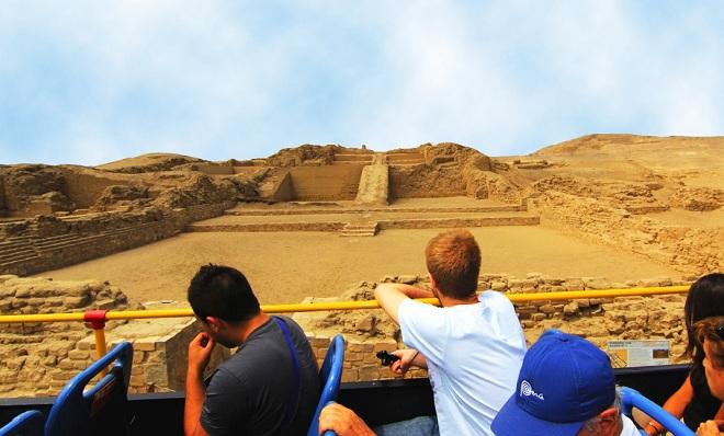 Tour al Santuario Pachacamac con Mirabus