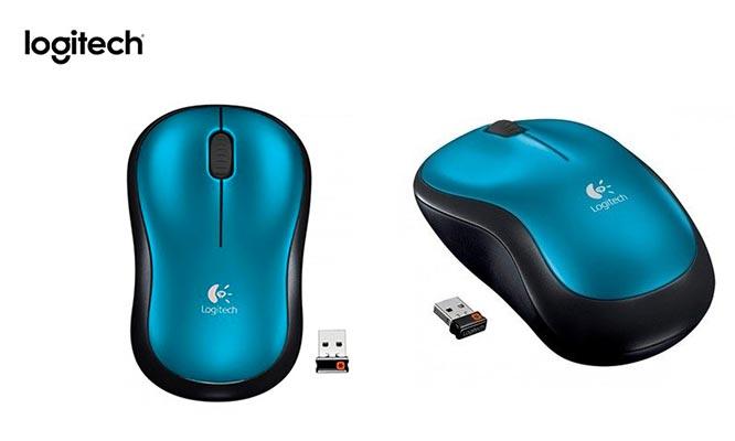 Pack de 2 mouse Wireless Marca Logitech Modelo M185