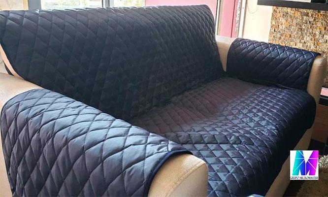 Cobertor para muebles de sala 12 o 3 cuerpos con micromaster