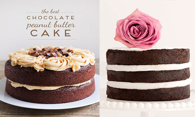Torta Naked Cake con 1 o 2 rellenos a elegir
