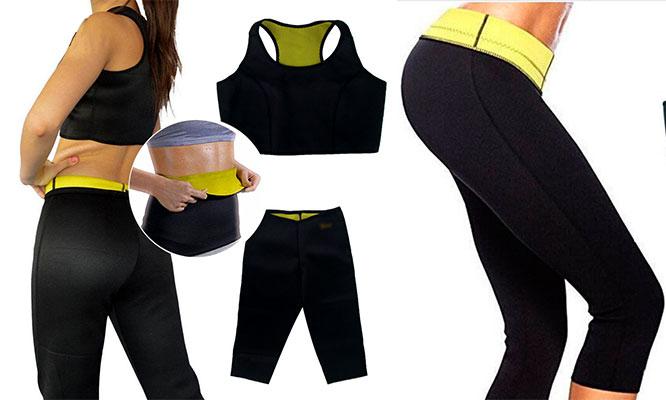 Kit de Ropa Deportiva con Thermo Regulador de Neotex Top Faja Pantaloneta