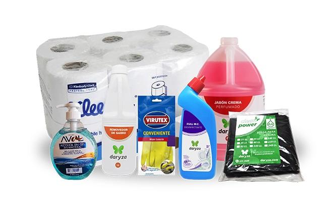 ¡Super Packs de limpieza y desinfeccion para Cocina o Baño!