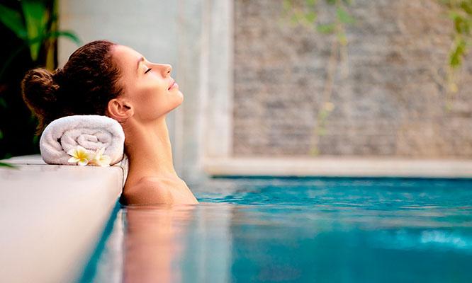 Masaje relajante hidratacion cepillado en Oh Sole Mio Hotel Los Delfines