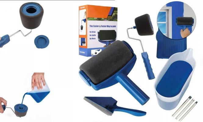 Paint Roller rodillo para pintar, kit de 8 piezas  Incluye delivery