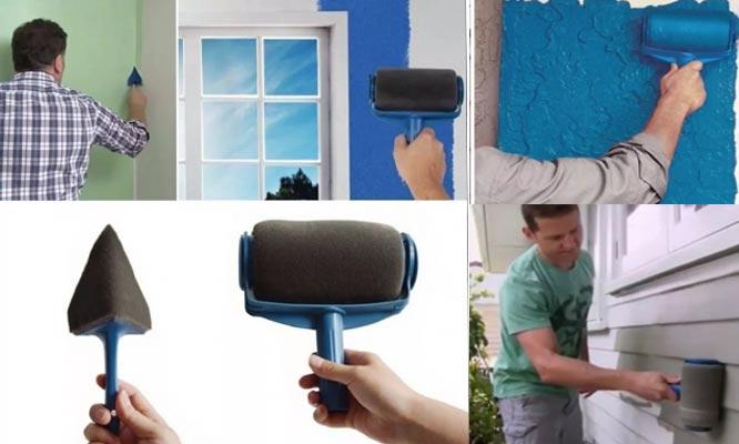 Paint Roller rodillo para pintar sin costura kit de 8 piezas ¡Incluye delivery!