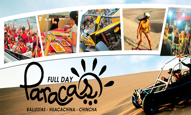 Full Day Paracas Huacachina Chincha
