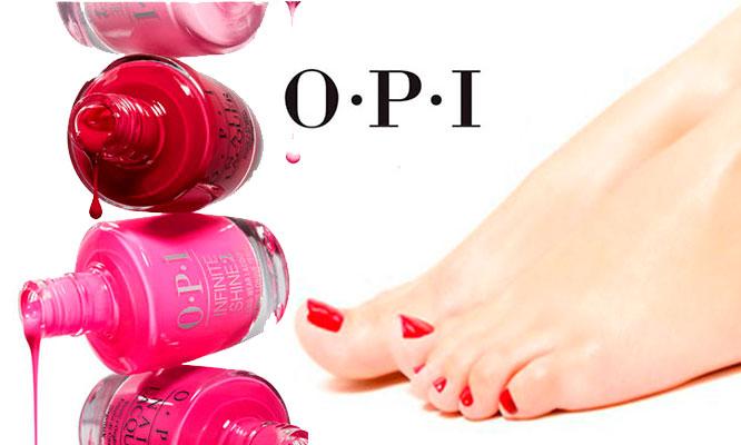 Depilacion con cera en piernas y antebrazos manicure y pedicure OPI