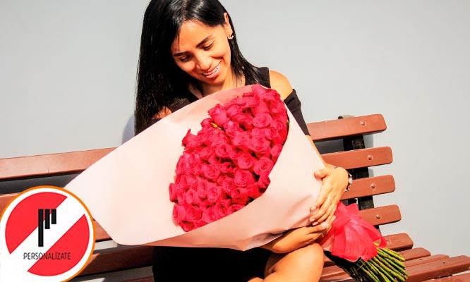 Super ramo de Rosas europeas elige 100 o 300 rosas