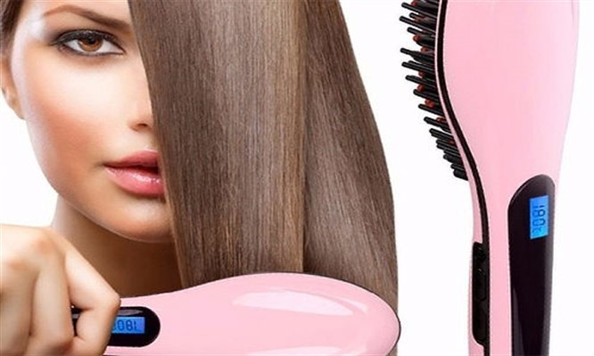 Peine alisador electrico para cabello ondulador de cabello