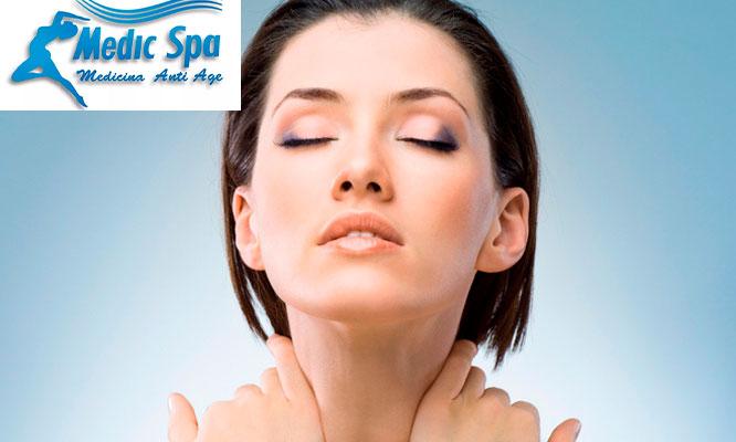 3 sesiones de tratamiento para reducir papada y cachetes