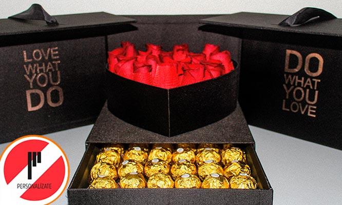Love pack Rosas Ferrero elige tu Love box