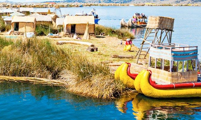 Tour a las Islas flotantes Uros traslados tickets de ingresos guia y mas