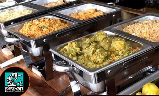 Almuerzo buffet para uno en El Pez On San Miguel